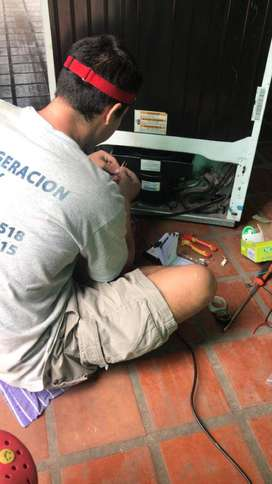 Servicio oficial heladeras, frezer y aires acondicionados linea blanca tecnico en reparacion 24hs urgencias