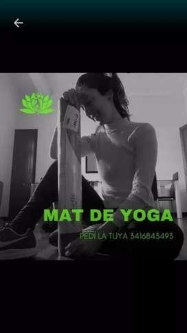 Colchoneta (mat) yoga