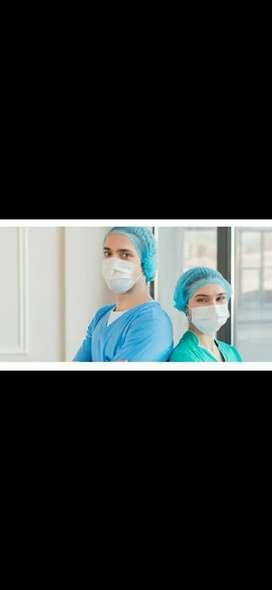 Auxiliar de enfermería,  centro geriátrico