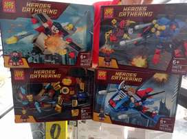 Para los chiquitines,te traemos Lego Avenger de diferentes piezas
