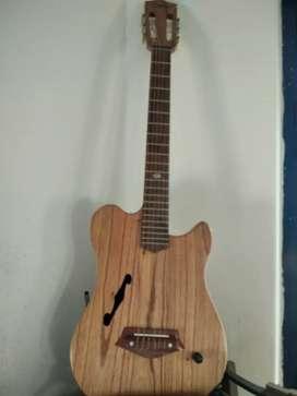 Vendo guitarra electrocriolla