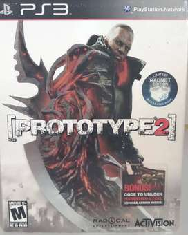 Prototype 2 Radnet Edition Limited PS3 FISICO