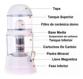 Filtro Purificador De Agua 14 Litros