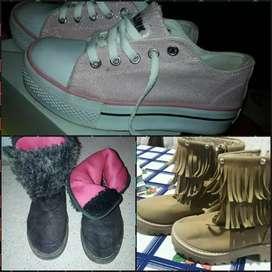 vendo botas de nenas