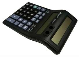 Calculadora Kenko Doble Visor 12 Digitos