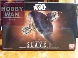 Nave Slave I Boba Fett 1/144 Bandai Star Wars Modelismo