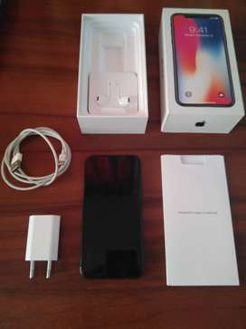 IPHONE X 64 GB COLOR NEGRO (LIBRE DE FÁBRICA)