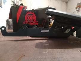 Parrilla KTM 200, 250 Ng y baúl con cojin
