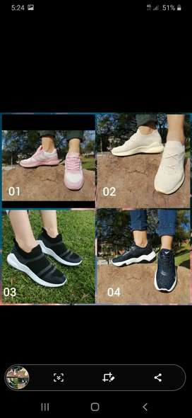 Lindas zapatillas para mujer y hombre