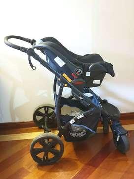 Coche bebesit 5 en 1 incluye silla para carro