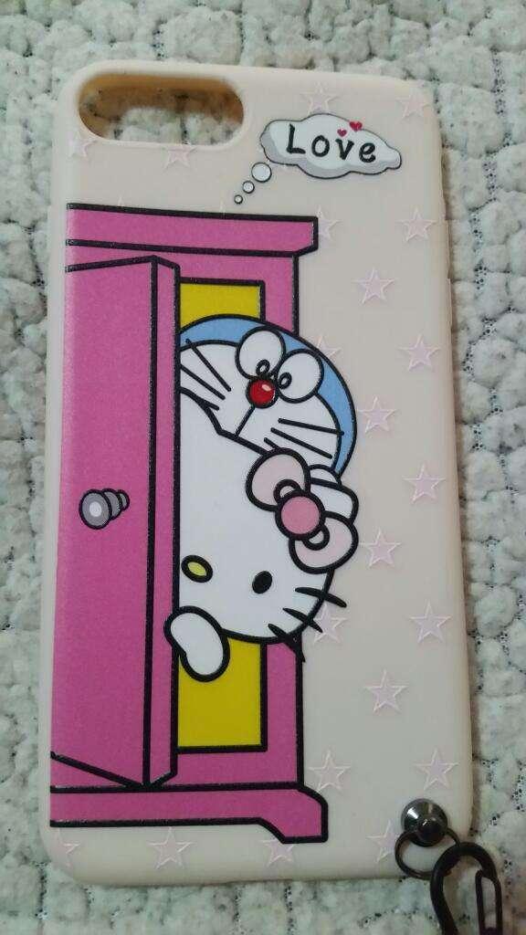 Hello Kitty Case para iPhone 6 6s 7 Plus 0