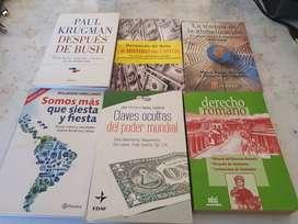 Vendo 11 libros en buen estado