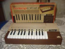 Organo Bontempi Italiano De Los 70s Funcionando No Envio