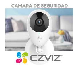 Camara de seguridad Ezviz Mini O. Cuida tu casa o negocio desde el celular.