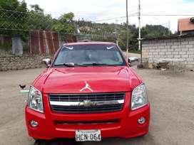 camioneta dmax color rojo año 2009 en buen estado con llantas nuevas.  A toda prueba.  Solo interesados.