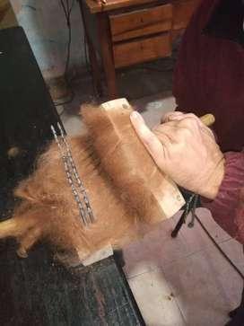 Cardadora de lana