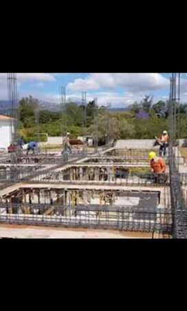 Se realiza todo tipo de construciones estructura y finos terminados