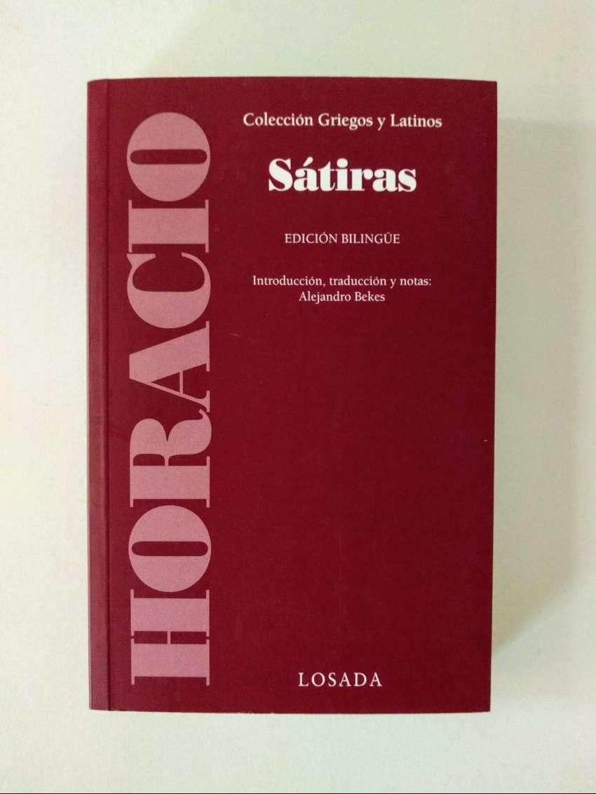 Sátiras - Horacio - Edición Bilingüe - Editorial Losada 0