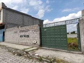 Se vende terreno ubicado en buen sector de la ciudad de Ibarra.