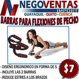 BARRA PARA FLEXIONES DE PECHO PUSH UP