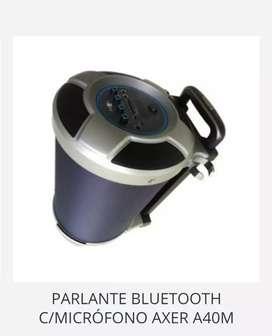 Parlantes bluetooth axer A40M