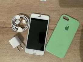 Iphone 7 Silver (32 Gb) - Excelente estado
