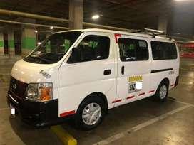 Servicio de transporte privado de  vans Turismo