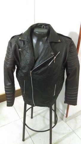 linda chaqueta hombre cuero