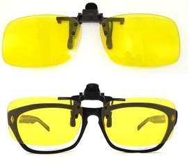 Clips para lentes conduccion dia o noche