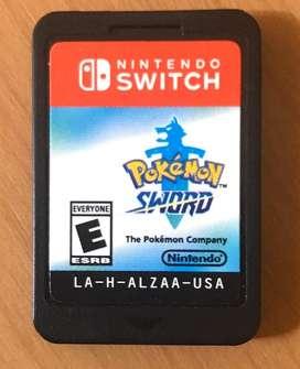 Cartucho Pokemon Espada ica