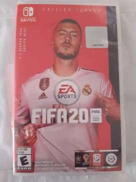 VENDO FIFA 20  NUEVO PARA NINTENDO
