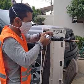 Mantenimiento Instalación Reparación de aires acondicionados