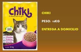 CHIKI COMIDA PARA GATOS