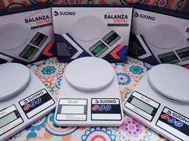 Balanza Digital de Cocina Tara 1gr a 10k con pilas de Regalo