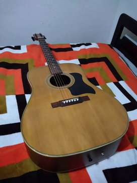 Hermosa guitarra Wasburn folk cuerdas metalicas