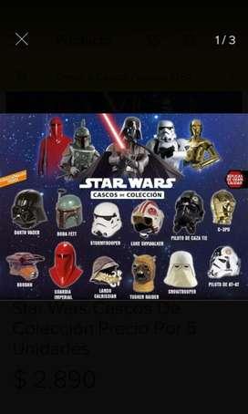 Coleccion Cascos Star Wars Y Otros