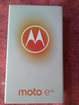 Motorola E6s de 32gb caja sellada libre
