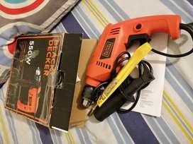 Taladro Black Decker 550w