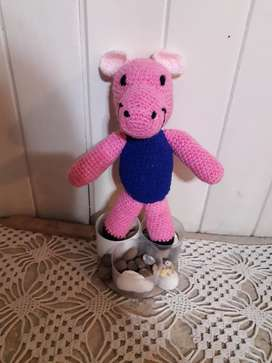 Muñecos, tejidos a crochet