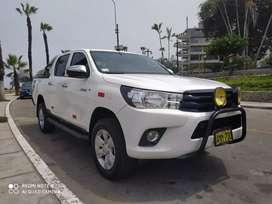 Toyota Hilux 4x2 2016 Petrólera turbo