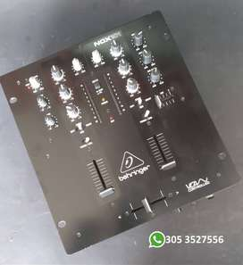 Vendo Mixer behringer nox 101