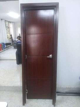 Puerta para baño (Madera)