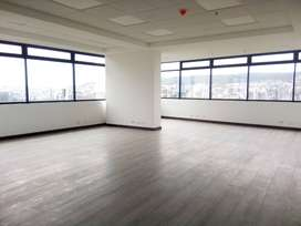 VeNdO Oficina Estrenar 116 m2 - Esquinera - Vista - Edificio Corporativo - Excelente Ubicación - La Carolina