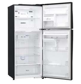 Nevera LG Top Freezer LT41AGDX 437LTS con tres meses de uso