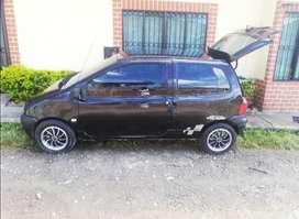 Twingo 2007 color negro