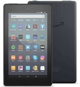 Tablet Fire 7 Hd Black Alexa 16 Gb + Wifi Entrega Inmediata