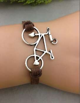 Brazalete Pulsera bicicleta, regalos amigo, cumpleaños