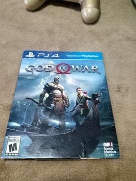 Juego original God of War para PS4