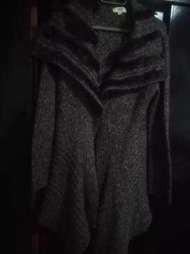 Maxi saco lana