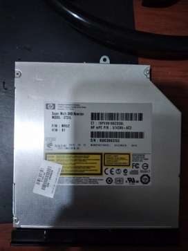 Unidad de dvd interna hewlett-packard